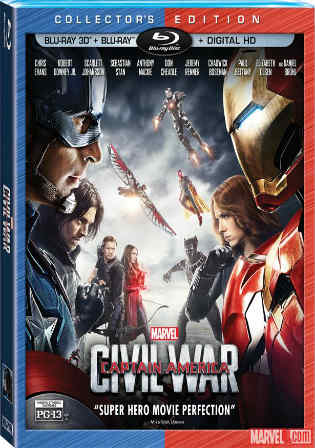 Captain America Civil War 2016 BRRip 450MB Hindi Dual Audio 480p Watch Online Full Movie Download bolly4u