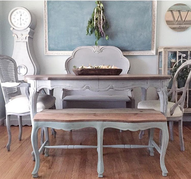 Lovely Weathered Pine Bench using #WeatherwoodStains on #fg2b