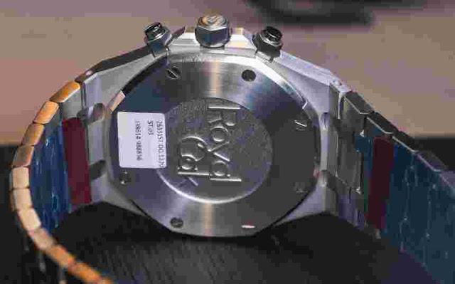 Réplicas Relojes Audemars Piguet Royal Oak Automático Cronógrafo En Acero