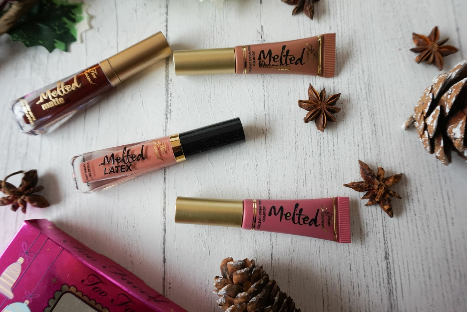 Christmas | Beauty Stocking Fillers Under £25 Too Faced Under The Kisslete Gift Set