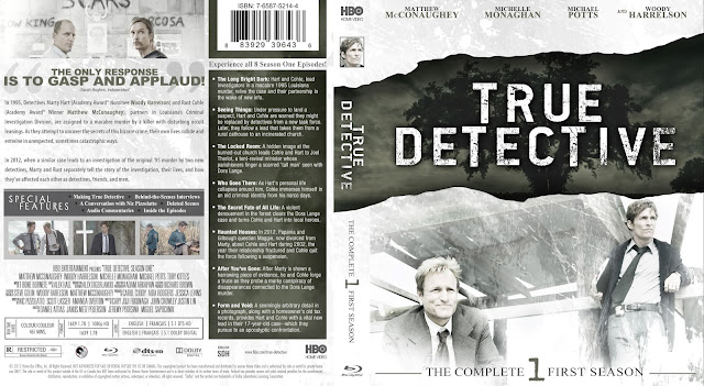 True Detective Season 1 Bluray Cover