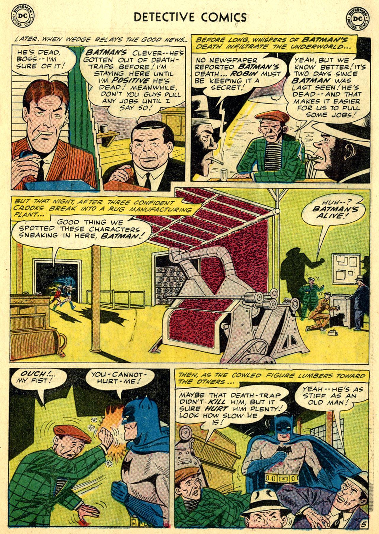 Detective Comics (1937) 281 Page 6