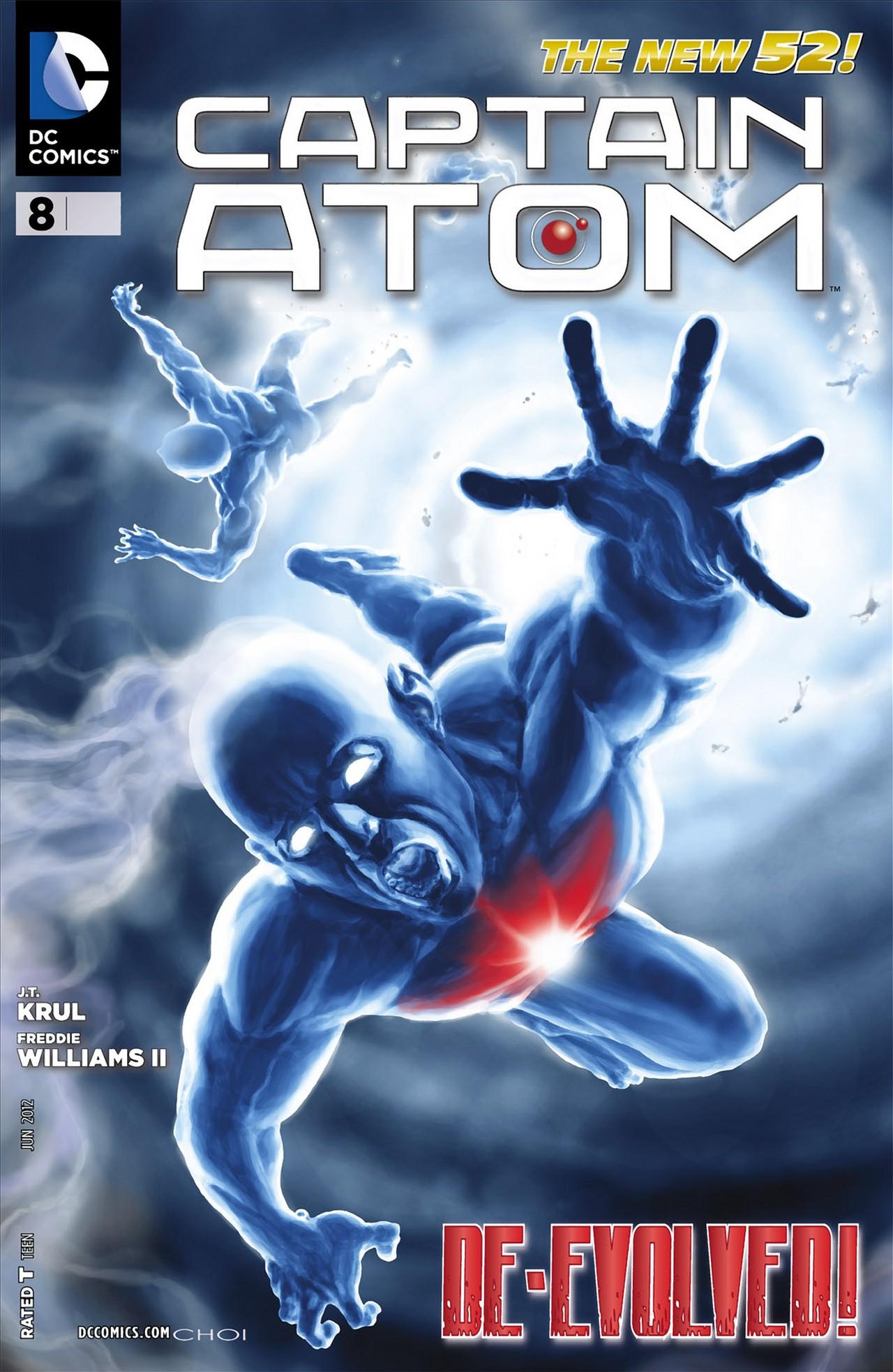 Captain Atom (2011) 8 Page 1