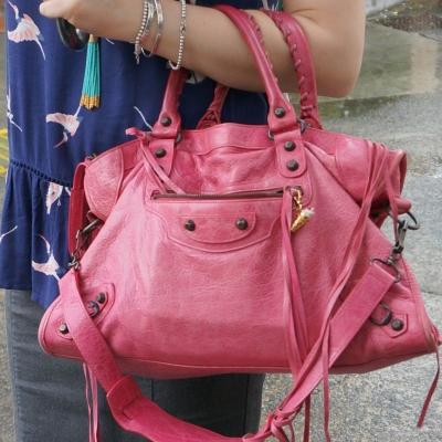 Balenciaga RH classic city in 2010 sorbet pink | awayfromtheblue