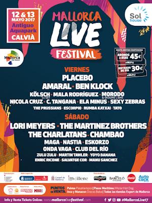 Cartel Mallorca Live Festival 2017