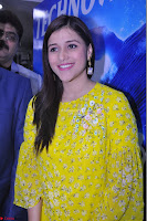 Mannara Chopra Looks Cute in Yellow Salwar Suit ~  Exclusive 02.JPG