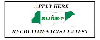 Sure-P Recruitment 2018/2019 / Online Portal / Apply Here