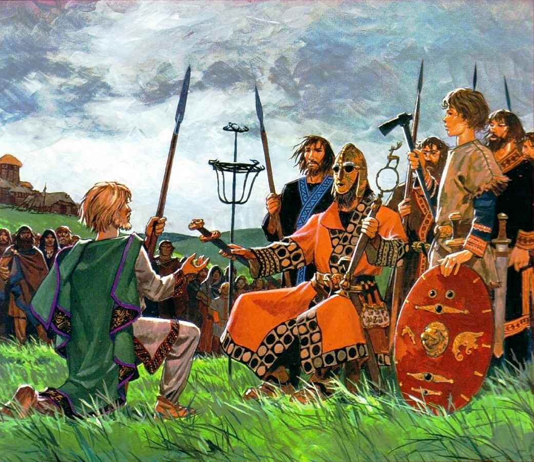 DAILY LIFE IN ANGLO SAXON ENGLAND