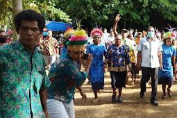 Herry Ario Naap Minta Babe Oser Masyarakat Biak di Tanah Tabi Tetap Terjaga