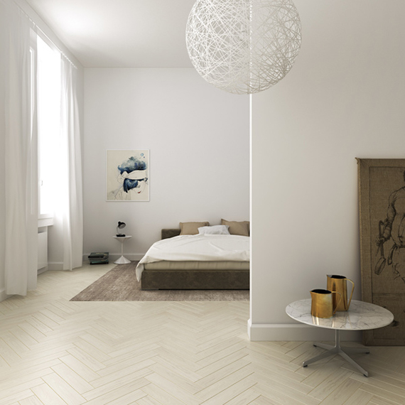Contemporary minimalistic apartment in Florence by Filippo Carandini Studio