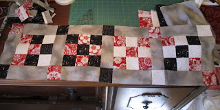 How to Make a Square Quilt with only SQUARE'S, Part 2