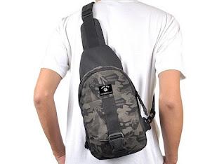 Model tas Sling Bag pria dan wanita kekinian