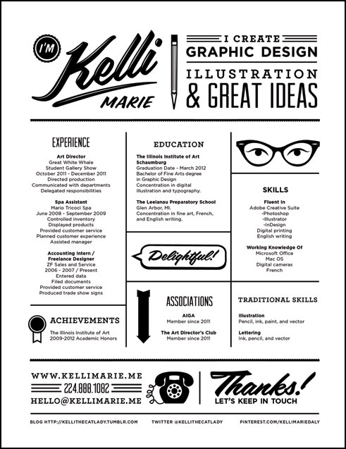 Creative Resume Examples. cool resume format resume format to cv ...