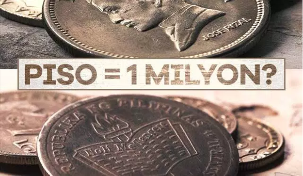 Old one peso coin allegedly worth P1 million