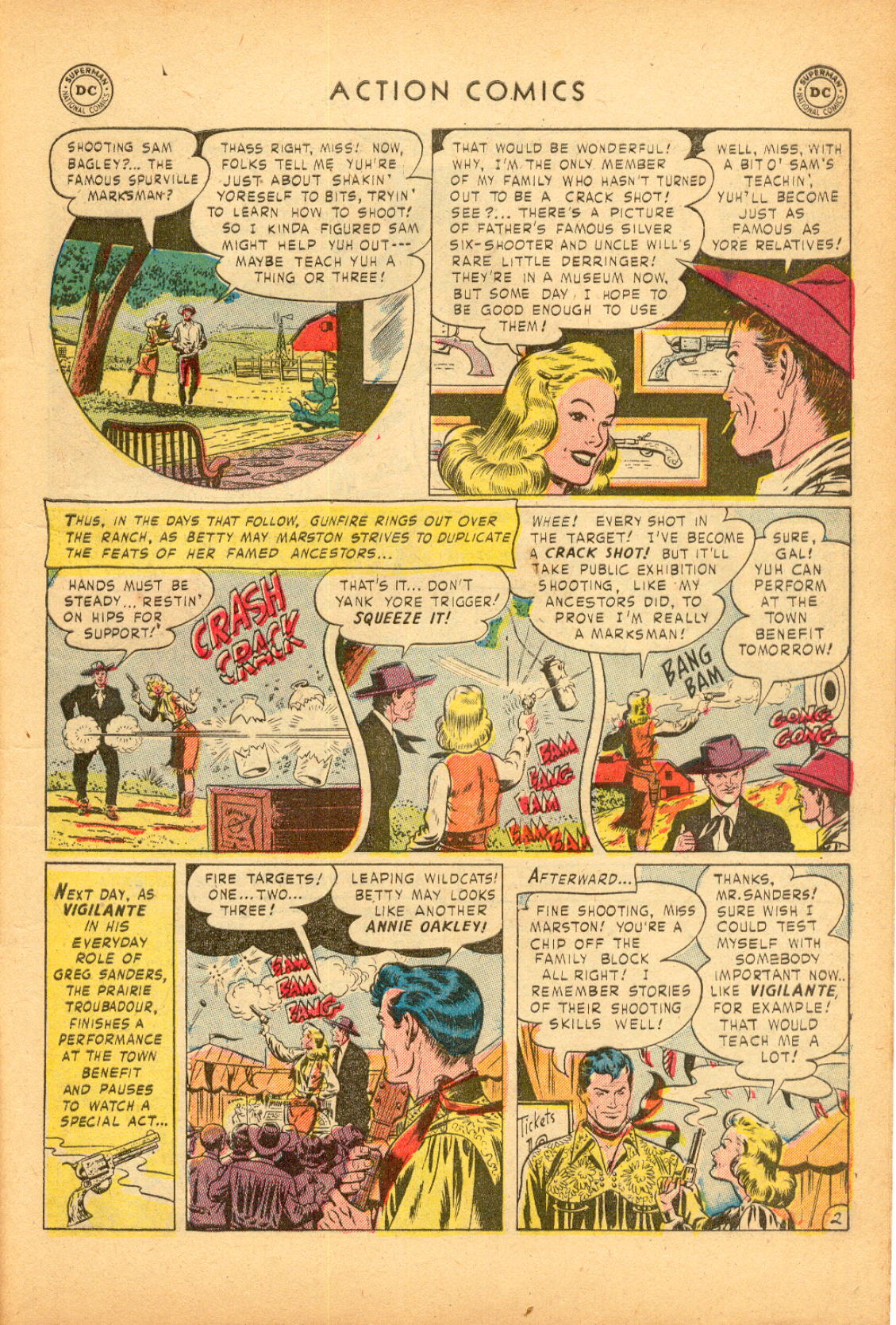 Read online Action Comics (1938) comic -  Issue #174 - 35