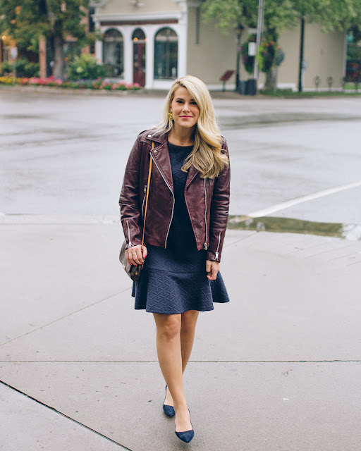 chic affordable leather jacket