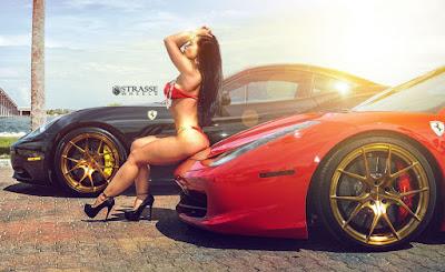 Resultado de imagem para girls cars italia