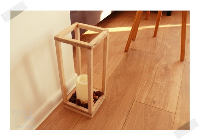 Drewniana latarenka DIY