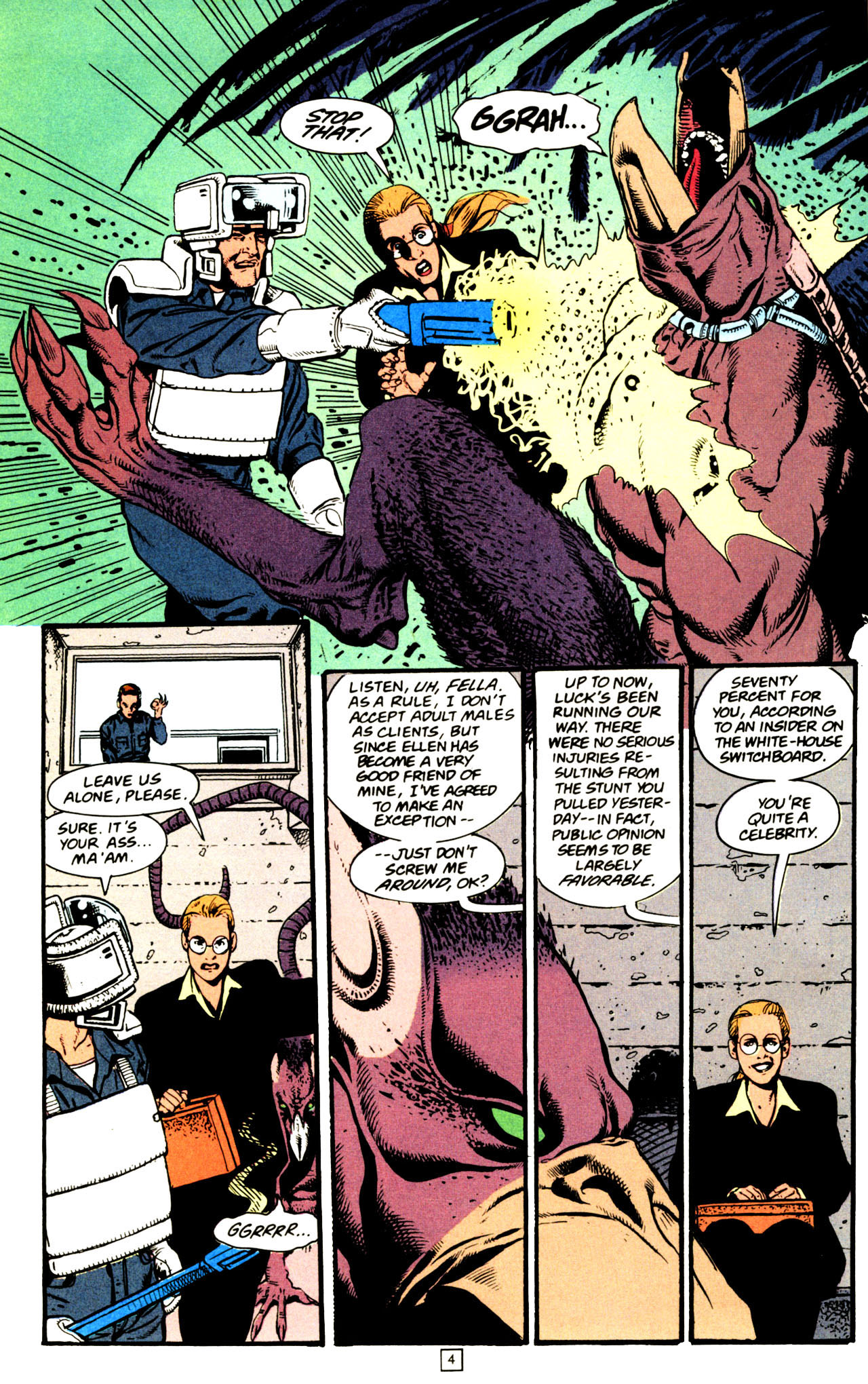 Read online Animal Man (1988) comic -  Issue #72 - 5