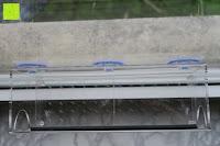 Abstand: PEDY Großer Fenster Vogelfutterspender, Transparenter Saugfuß Durchsichtiger Vogelhaus Fenster Vogelfutterspender Großer Acryl Vogelfutterspender Vogelfutterstation