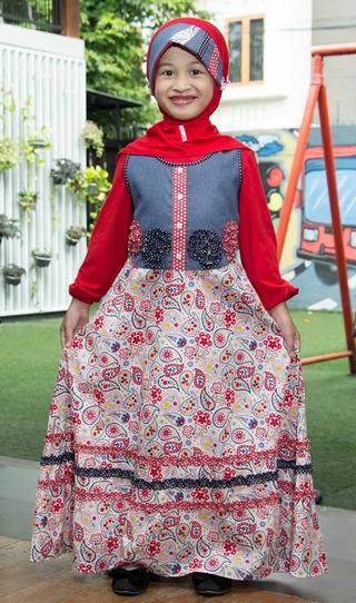 Foto Baju Muslim Anak Perempuan