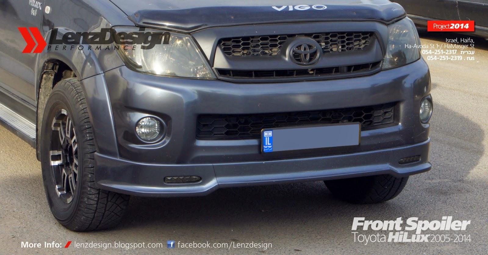 Toyota Hilux 2005 2014 Body Kit Lenzdesign Performance