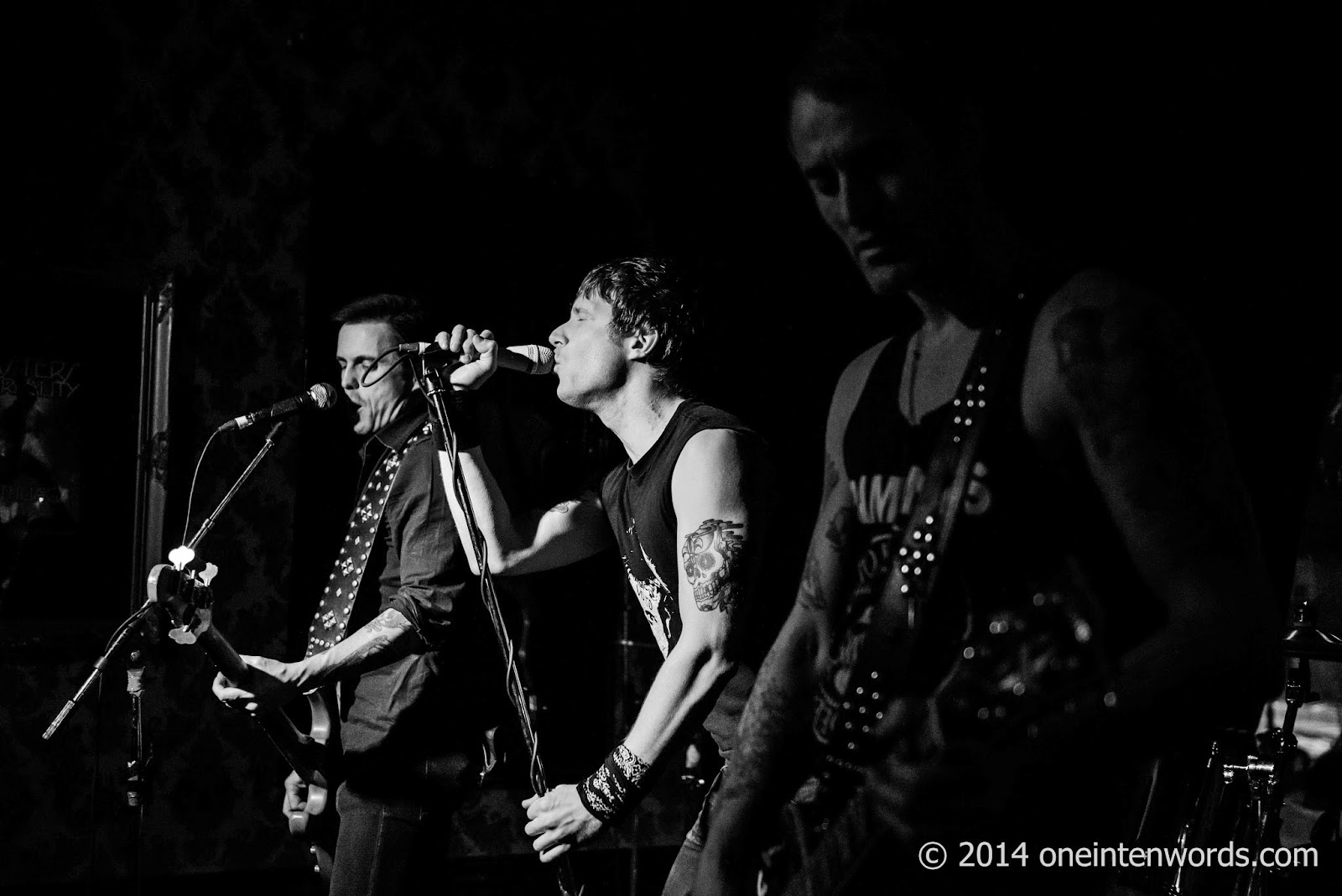 Saigon Hookers at Cherry Cola's November 21, 2014 Photo by John at One In Ten Words oneintenwords.com toronto indie alternative music blog concert photography pictures