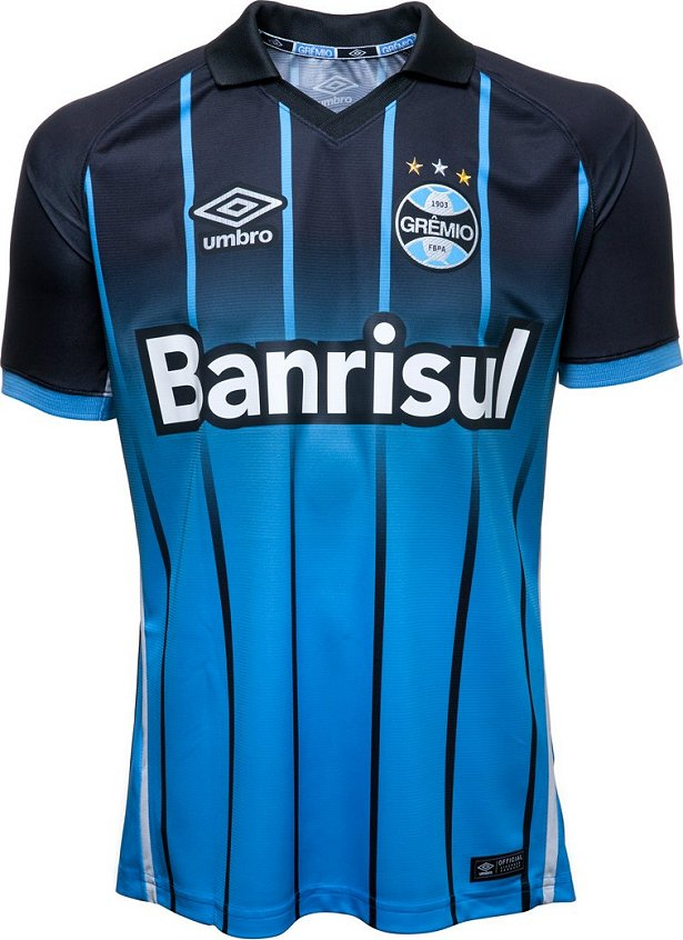 aed4b1fc2c Umbro divulga nova terceira camisa do Grêmio - Show de Camisas