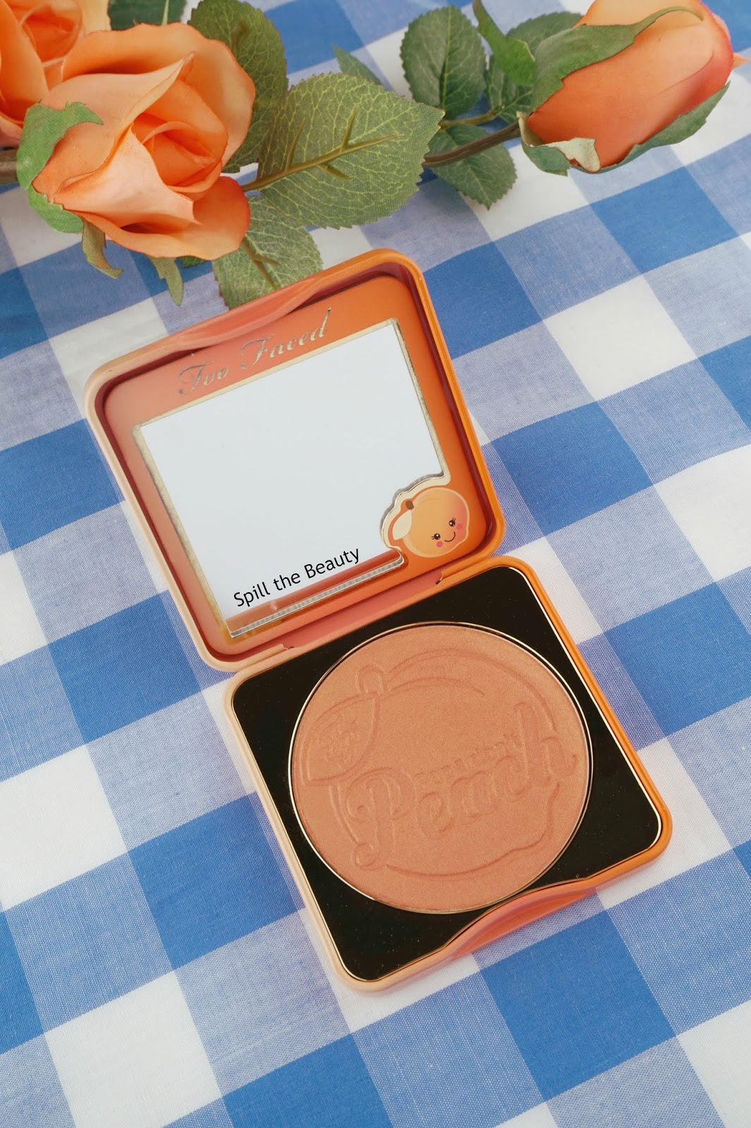 too faced papa dont peach blush review swatches dupe