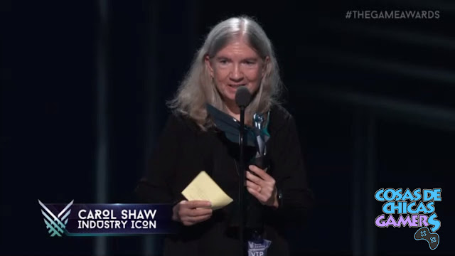 CAROL SHAW THE GAME AWARDS