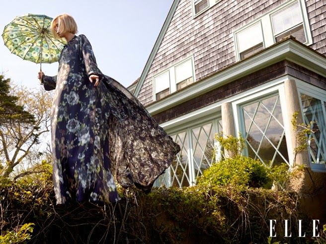 Kristen Wiig Elle Magazine Cover August 2014