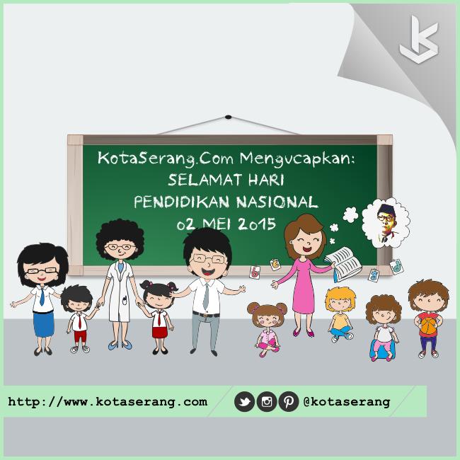 Gambar Vector - Gambar Peringatan Hari Pendidikan Nasional 02 Mei 2015
