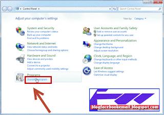 cara menghapus aplikasi di windows 7 8 10