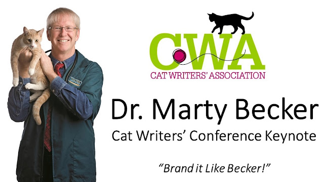 Cat Writers' Association Conference keynote speaker: Dr. Marty Becker