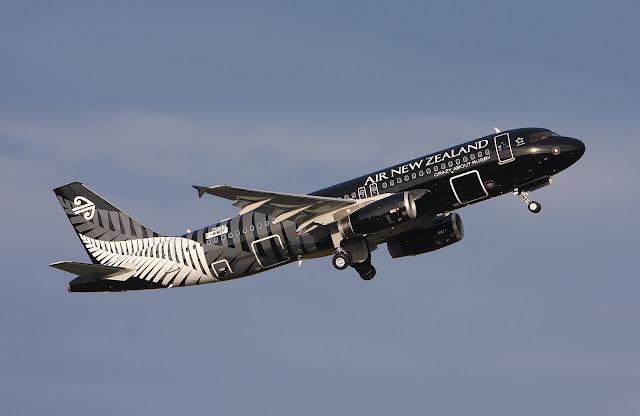 Air New Zealand Airbus A320-200 Series