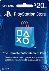 US $20 Playstation Network (PSN) Gift Card