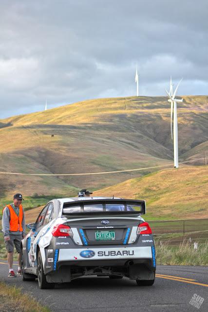 David Higgins at Maryhill at Oregon Trail Rally 2016