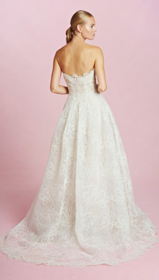 Oscar de la Renta Bridal Fall 2015 - Belle The Magazine