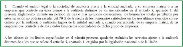 Artículo 4.2 del Reglamento (UE) nº 537/2014