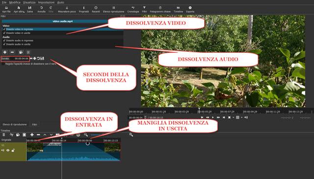 configurazione-dissolvenza-video