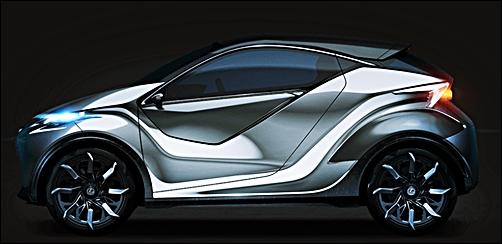 2017 Lexus LF-SA Concept Interior