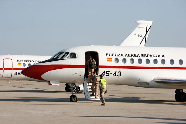 El Ejército del Aire realiza una triple aeroevacuación médica en Bagdad, Muscat y Djibouti