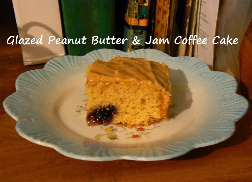 Jelly Glaze Recipe For Cake: SalleeB's Kitchen: Glazed Peanut Butter & Jam Coffee Cake
