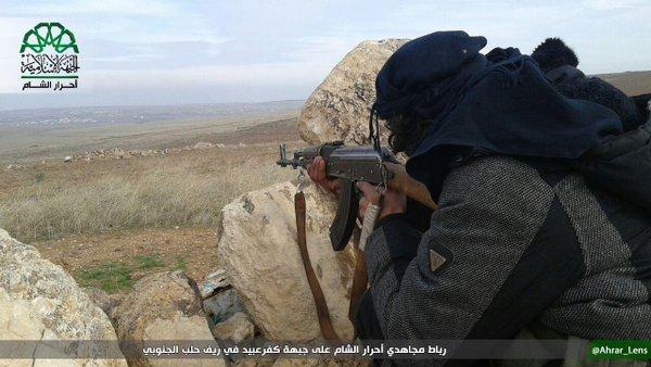 Pejuang Islam Suriah Berhasil Membunuh Milisi