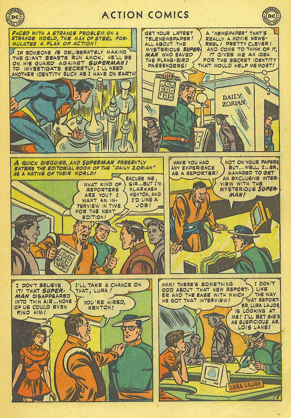 Read online Action Comics (1938) comic -  Issue #168 - 6