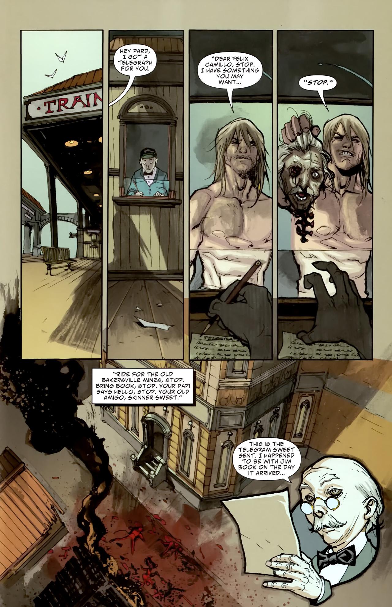 Read online American Vampire comic -  Issue #3 - 31