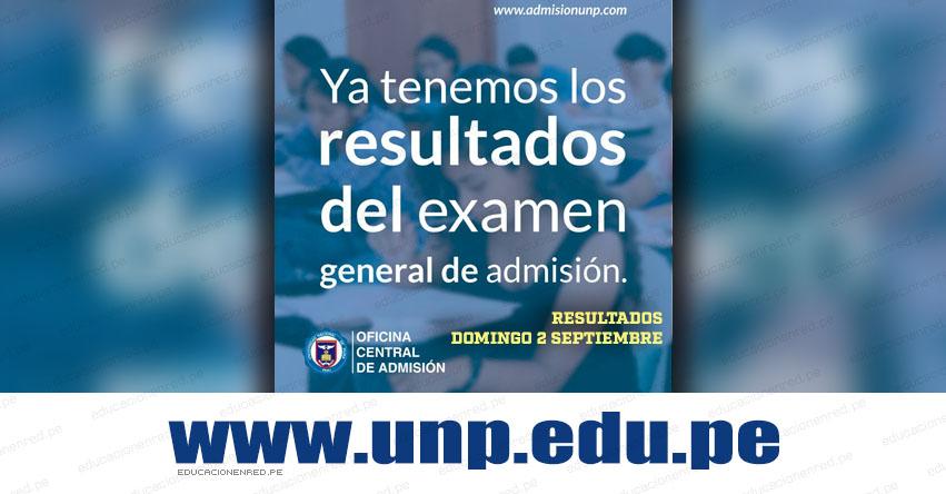 Resultados UNP Piura 2018-2 (2 Septiembre) Lista Ingresantes Examen General de Admisión - Universidad Nacional de Piura - www.unp.edu.pe