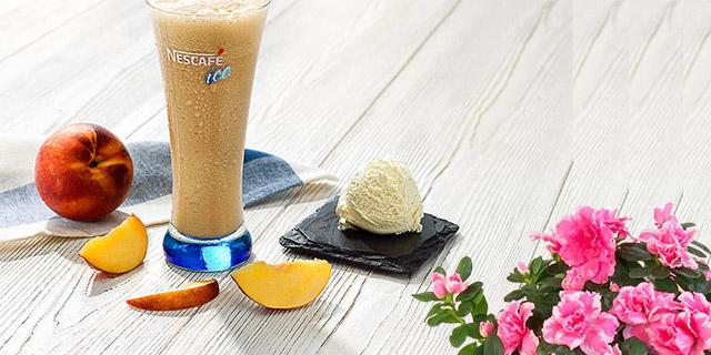 dondurmalı ve meyveli nescafe soğuk kahve hızlı ve pratik