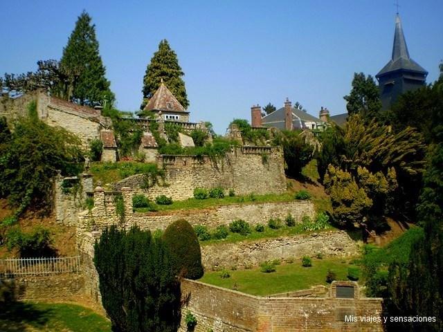 Jardín de Henri le Sidaner, Gerberoy, Francia