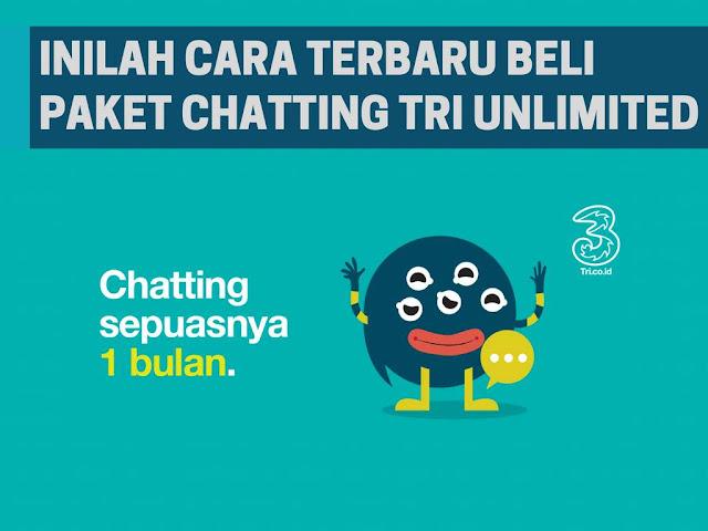 Paket Chat 3 Tri Tidak Ada Begini Cara Terbaru Mengaktifkannya!
